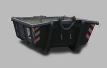 Container mit Doppelflügeltür 6 m³